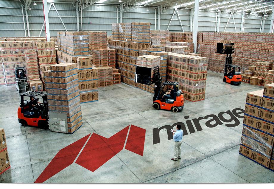 Centro de Distribución de Fabrica Mirage